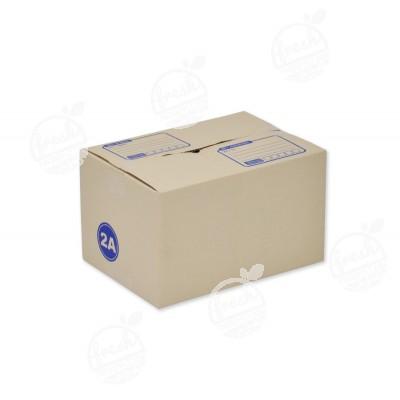 กล่องไปรษณีย์ฝาชน 2A  14 x 20 x 12 CM