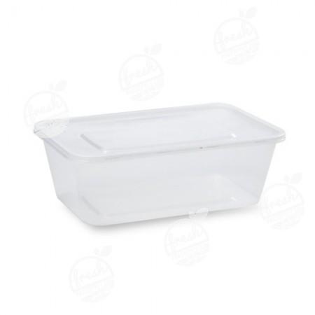 กล่อง PP ใส พร้อมฝา 1500 ml (ห่อ)