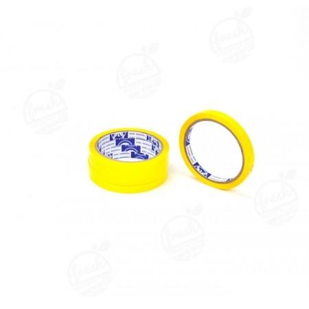 เทปรัดปากถุงสีเหลือง 9MM*45Y (Blue Phoenix)