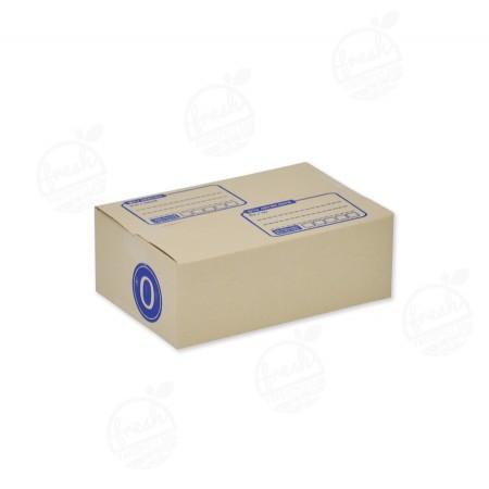 กล่องไปรษณีย์ฝาชน แบบ 0  11 x 17 x 6 CM