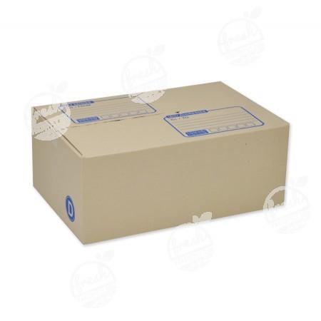 กล่องไปรษณีย์ฝาชนแบบ D  22 x 35 x 14 CM