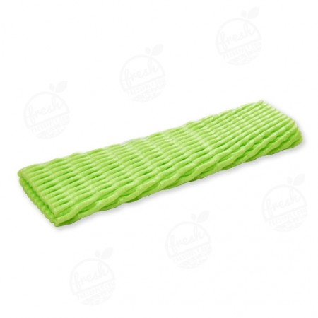 ตาข่ายเส้นใหญ่ L สีเขียว 8 x 24 cm (@1000)