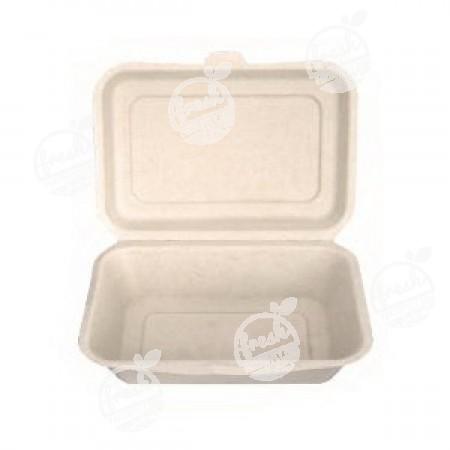กล่องอาหารสี่เหลี่ยม Gracz simple 600 ml (ห่อ)