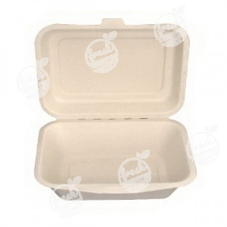 กล่องอาหารสี่เหลี่ยม Gracz 450 ml (ห่อ)