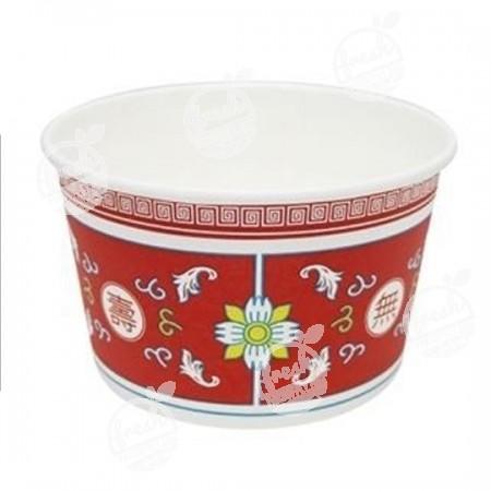ถ้วยกระดาษเฟสท์ 850 ml. PL003 ลายจีน (ห่อ)