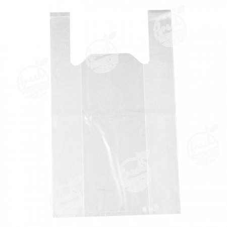 ถุงหิ้วใสผ่านน้ำ LLDPE ขนาด 12 x 20 นิ้ว (ห่อ)