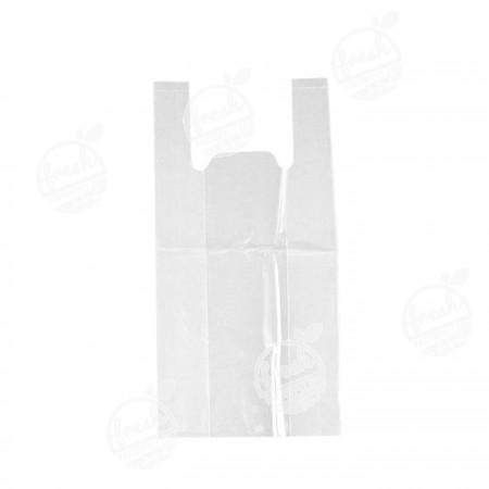 ถุงหิ้วใสผ่านน้ำ LLDPE ขนาด 8 x 16 นิ้ว (ห่อ)